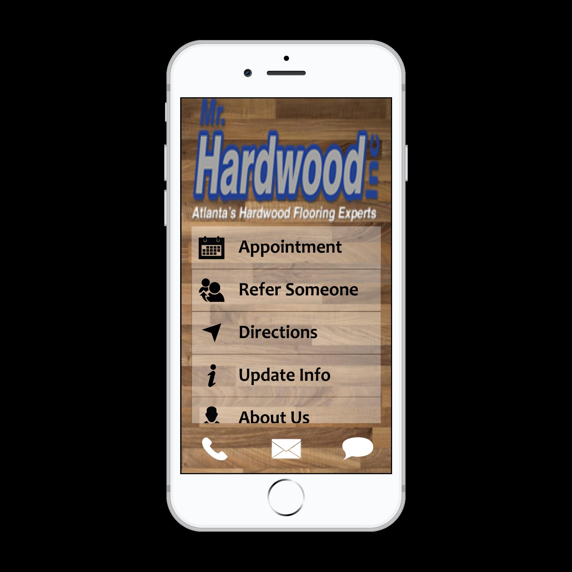 hardwood home