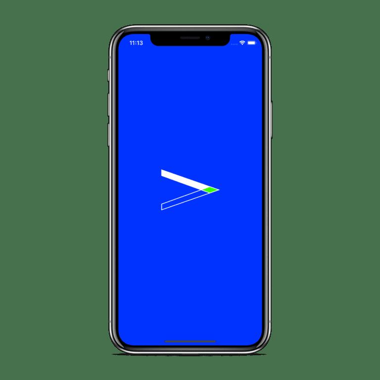 iOS launch X